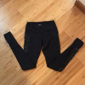 Lululemon decorative black leggings